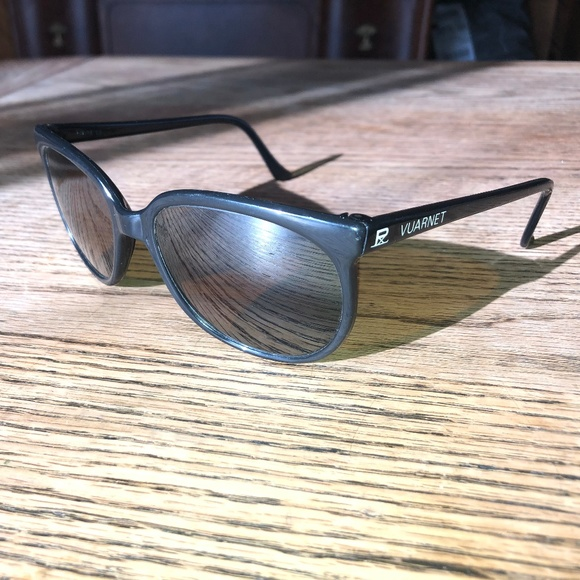 Vintage Vuarnet Black Sunglasses
